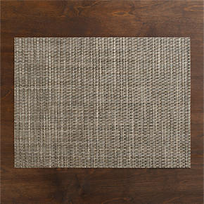 Chilewich® Platinum Basketweave Placemat