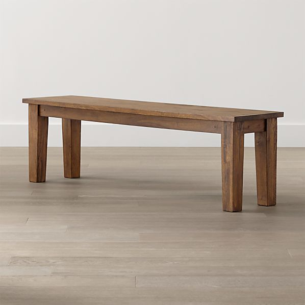 "Basque Honey 62"" Bench"