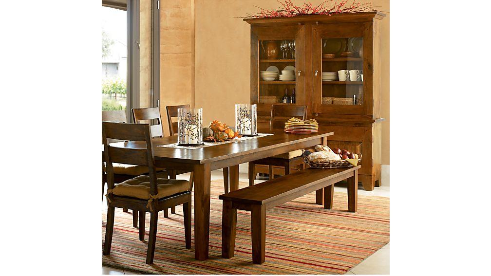 "Basque Honey 65"" Dining Table"