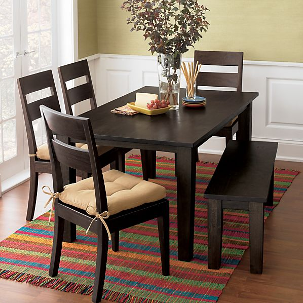 Dining Table Furniture Crate Barrel Basque Dining Table