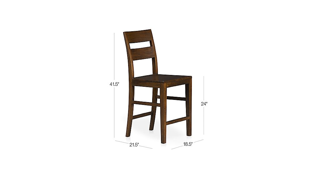 Basque Honey Counter Stool Dimensions