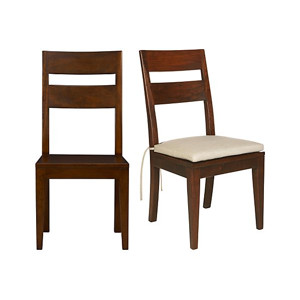 Basque Honey Side Chair and Cushion