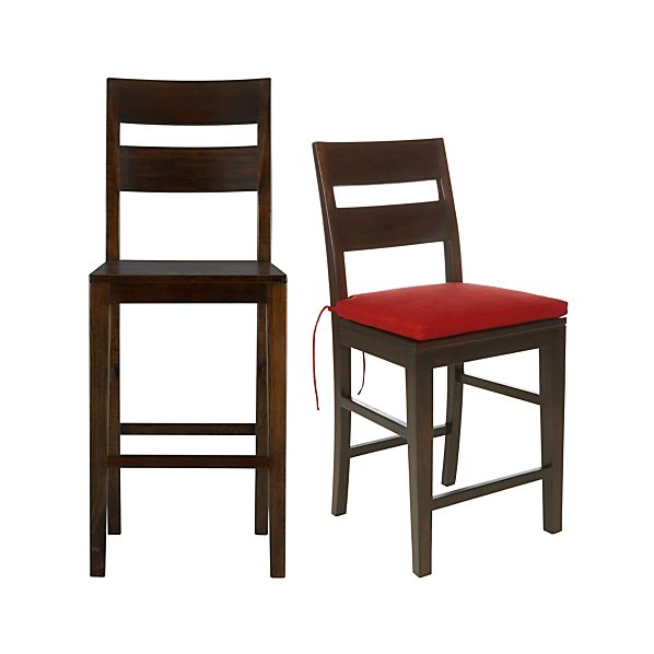 Basque Java Bar Stools and Cushion