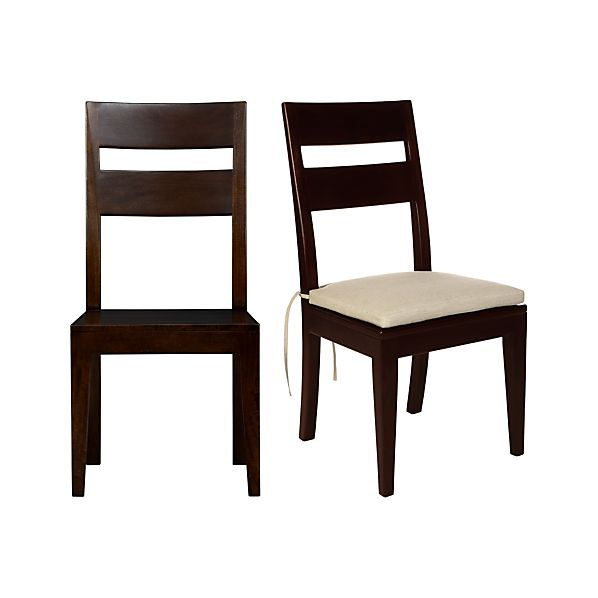 Basque Java Side Chair and Cushion