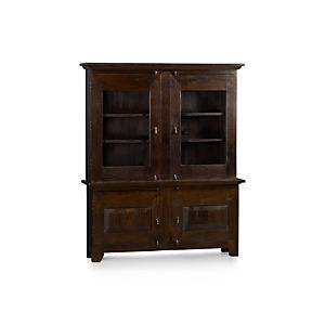 Basque Java Large Buffet with Hutch Top