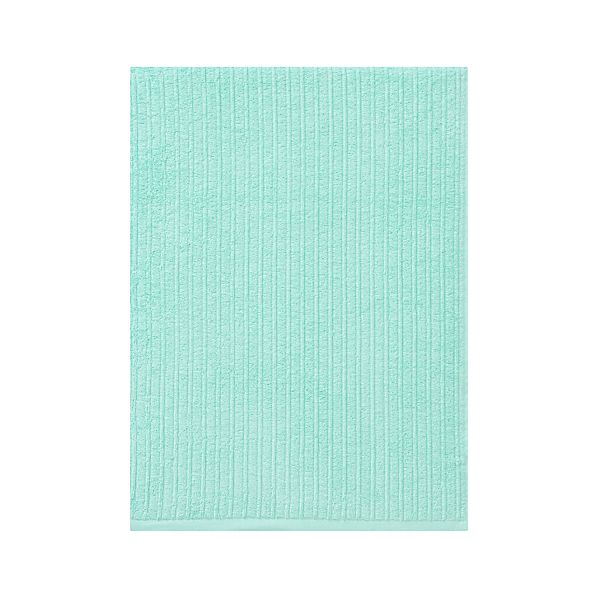 Ribbed Aqua Bath Sheet