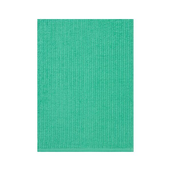 Ribbed Seaglass Bath Towel