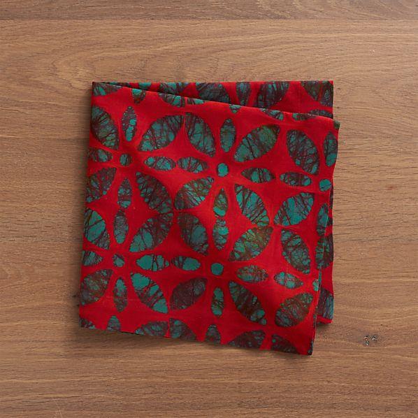 Batik Floral Napkin