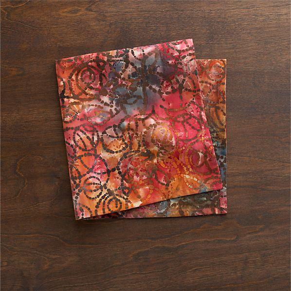 Batik Berry Napkin