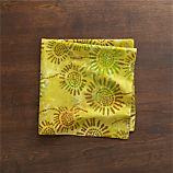 Batik Green Napkin