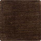 "Baxter Chocolate 12"" sq. Rug Swatch"