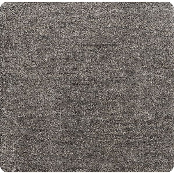 "Baxter Grey Wool 12"" sq. Rug Swatch"