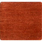 Baxter Marigold Orange Wool Rug Swatch.