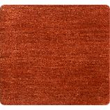 "Baxter Marigold Orange Wool 12"" sq. Rug Swatch"