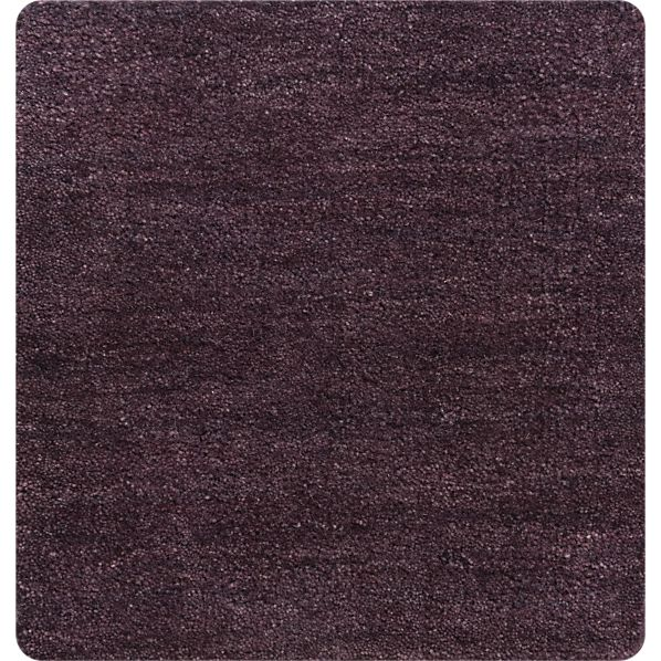 "Baxter Plum 12"" sq. Rug Swatch"