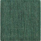 Baxter Jade Green Wool Rug Swatch.