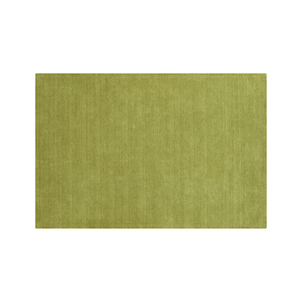 Baxter Lemongrass Green Wool 5'x8' Rug