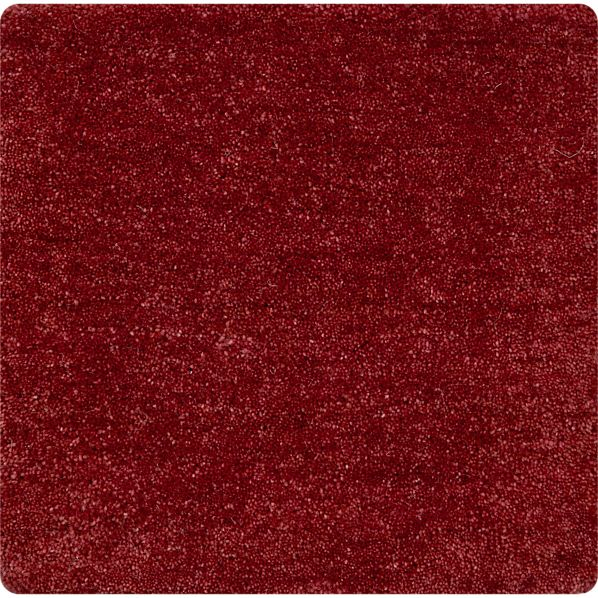 "Baxter Ruby 12"" sq. Rug Swatch"