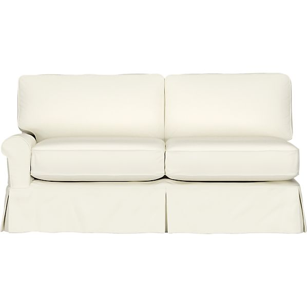 Slipcover for Bayside Left Arm Sectional Sofa