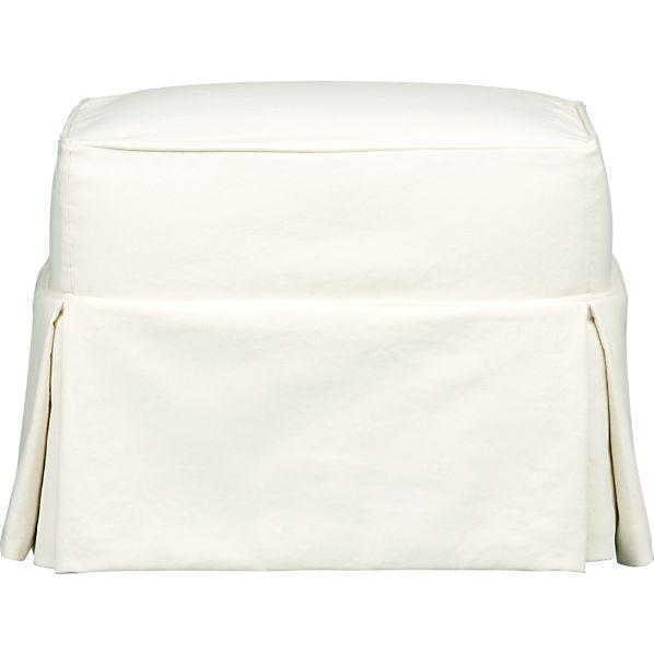 Slipcover for Bayside Ottoman