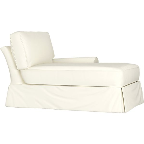 Slipcover for Bayside Right Arm Sectional Chaise