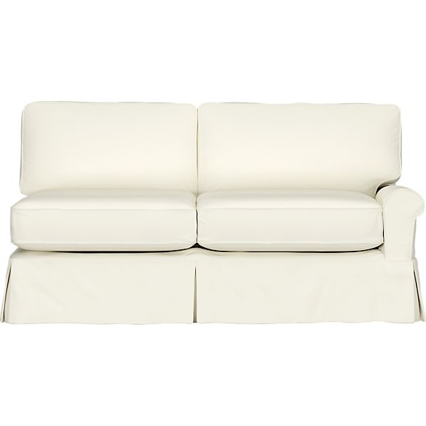 Slipcover for Bayside Right Arm Sectional Sofa