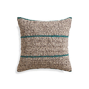 "Beasley 20"" Peacock Pillow"