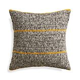 "Beasley Yellow 20"" Pillow with Down-Alternative Insert"
