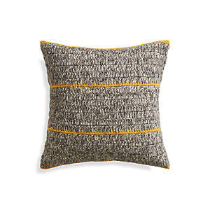 "Beasley Yellow 20"" Pillow"