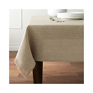Beckett Natural Tablecloth