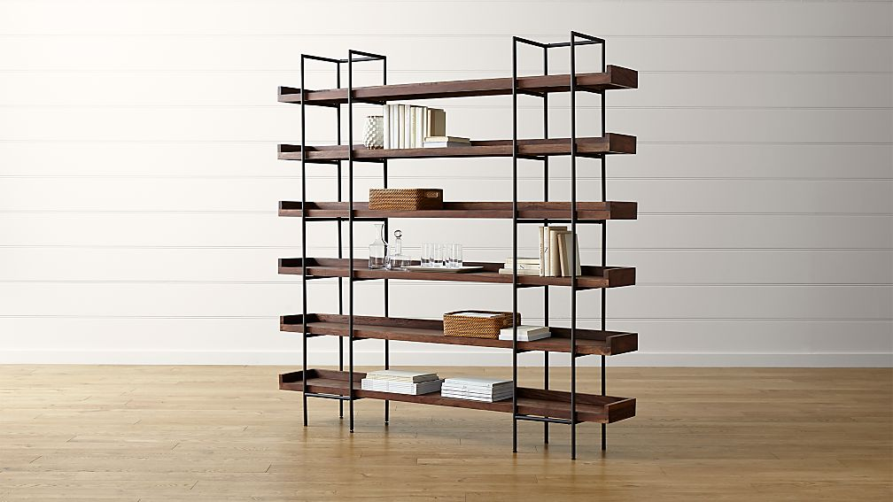 Beckett 6-High Shelf in Bookcases : Crate and Barrel