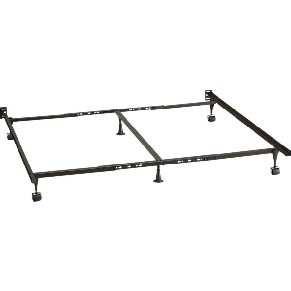 Queen King California King Bed Frame Crate And Barrel