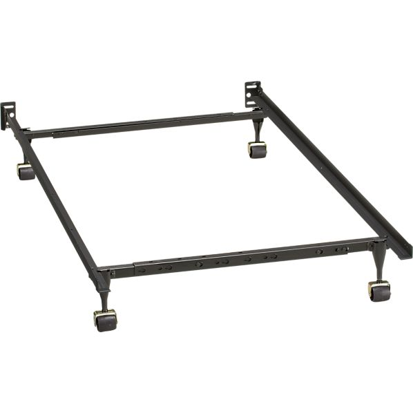 Twin full bed frame crate and barrel for Twin bed frame