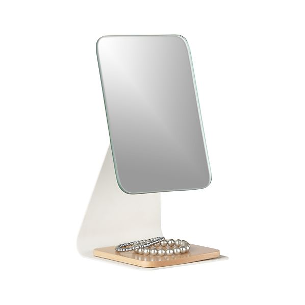 Beechwood Adjustable Tabletop Mirror