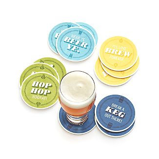 Beer Coasters Set of 12