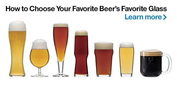 Choose Your Favorite Beer's Favorite Glass
