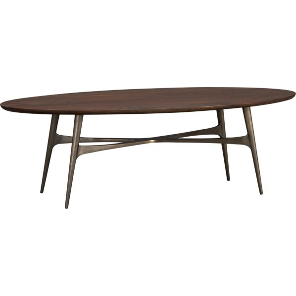 Stunning Crate and Barrel Oval Coffee Table 598 x 598 · 13 kB · jpeg