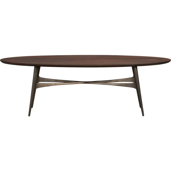 Bel-Air Oval Coffee Table