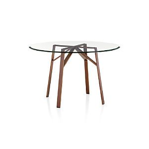 Belden Dining Tables with Glass Top