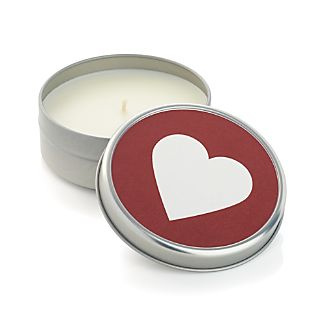 Belgian Berry Heart Tin Scented Candle