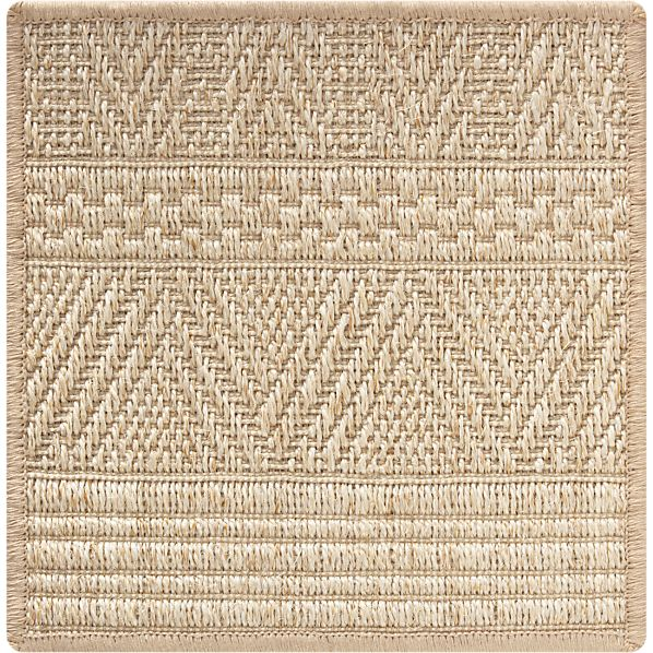 "Belize Cream 12"" sq. Rug Swatch"