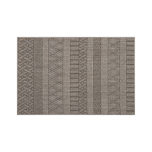 Belize Graphite 4'x6' Rug