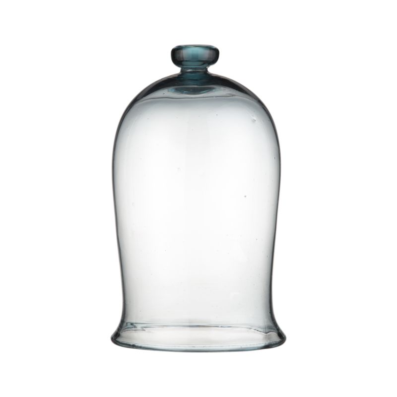 Protect plants in style with this recycled glass bell jar, a handy and attractive way to ward of cold, frost, wind and rain and to grow plants indoors. Also suitable for use as a food cover.<br /><br /><NEWTAG/><ul><li>100% recycled glass jar</li><li>Hand wash</li><li>For indoor or outdoor use</li><li>Made in Mexico</li></ul>