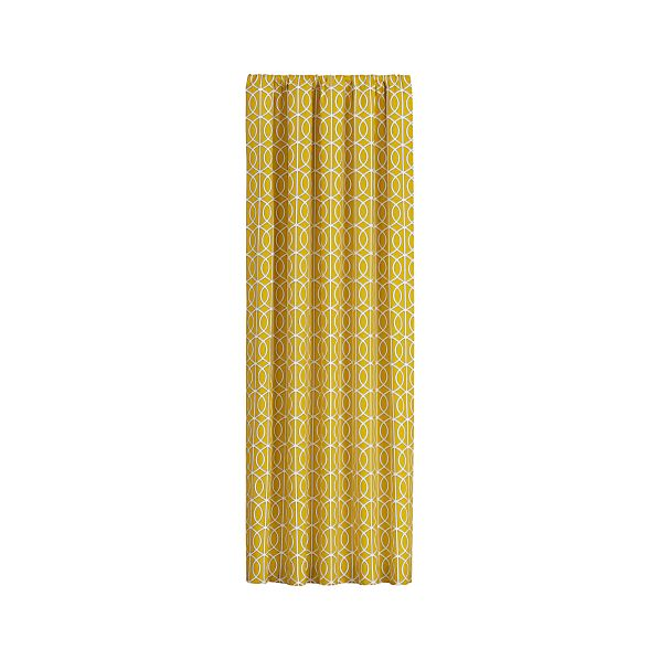 Bella Porte Citrine 50x108 Curtain Panel
