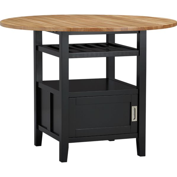 Belmont Black High Dining Table