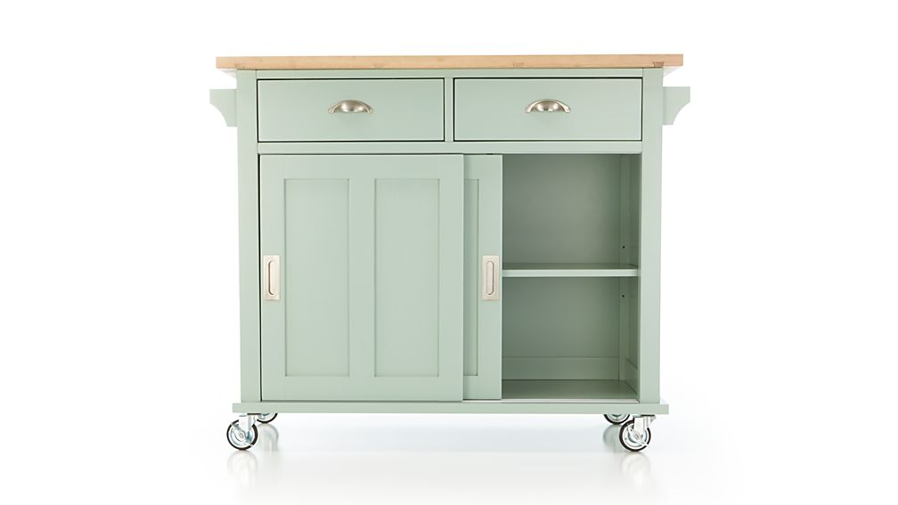 Belmont Mint Kitchen Island