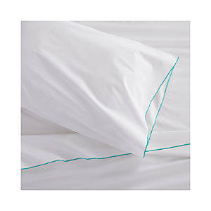 Belo Aqua Extra-Long Twin Sheet Set