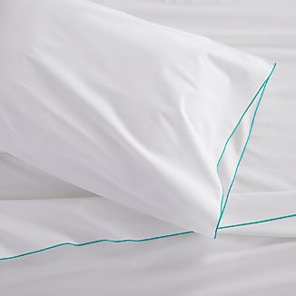 Belo Aqua Twin Sheet Set
