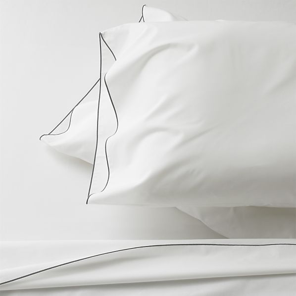 Belo Grey California King Sheet Set