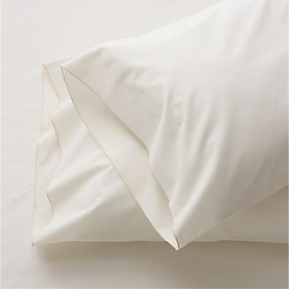Set of 2 Belo Ivory King Pillowcases